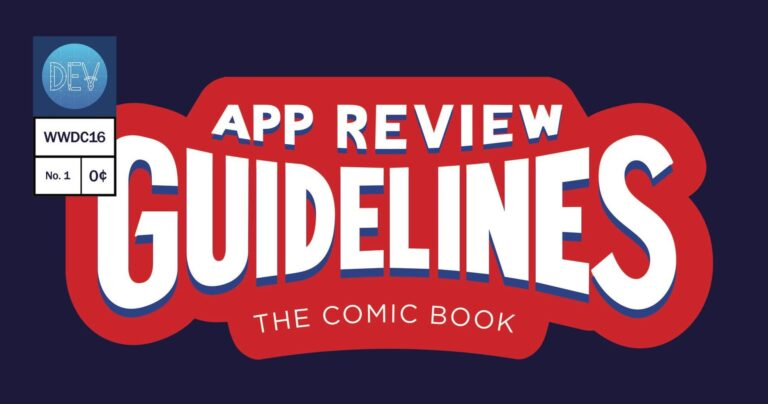 Five Years Ago, Apple Released a Comic Book of the App Store Review Guidelines – MacStories
